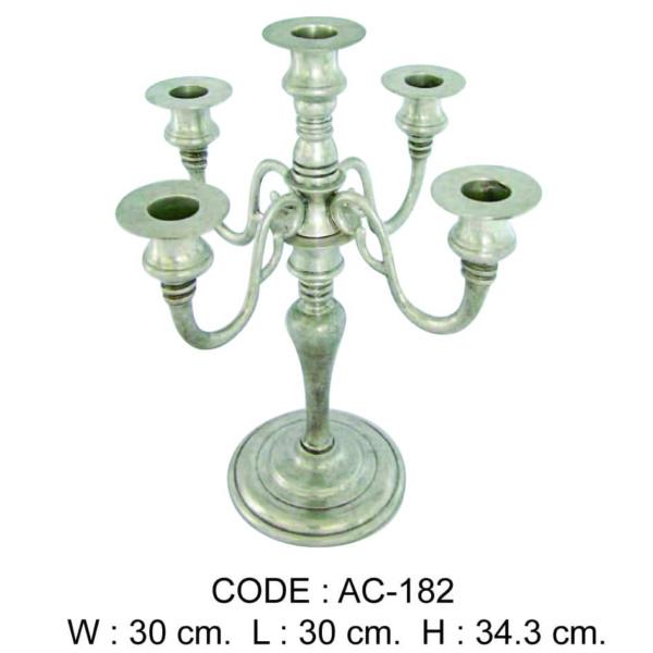 Code: AC-182 W 30 cm. L 30 cm. H 34.3 cm.