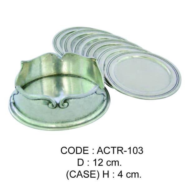 Code: ACTR-103 D 12 cm. (Case) H 4 cm.