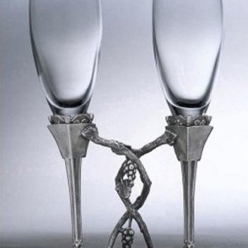 Double Glass - 3DBG-101 170 ml. H22 cms.